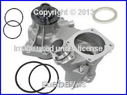BMW e38 (99-01 8cyl) Water Pump with METAL prop KIT o-rings engine coolant pumper