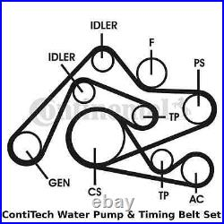 ContiTech Water Pump & Timing Belt Kit (Engine, Cooling)- CT1010WP1 -OE Quality