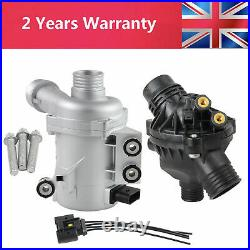 Electric Coolant Water Pump+Thermostat Kit for BMW 1' 3' 5' 6' 7' X1 X3 X5