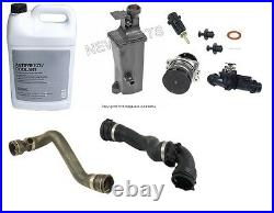 For BMW E46 E90 Cooling System Overhaul Kit Water Pump Coolant Hoses Antifreeze
