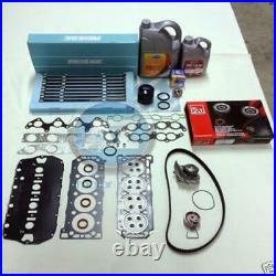MLS HEAD GASKET SET BOLTS WATER PUMP THERMOSTAT TIMING kit FILTER COOLANT OIL F