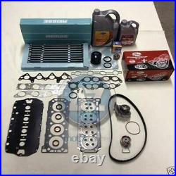 Oil coolant MLS head gasket bolts timing kit water pump thermostat filter GATES